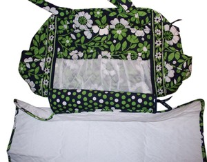 Vera Bradley Black Make A Nwt Changie Lucky You Green Diaper Bag