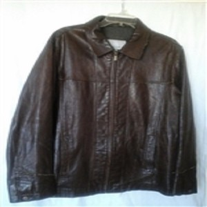 M. Julian Brown Leather Jacket