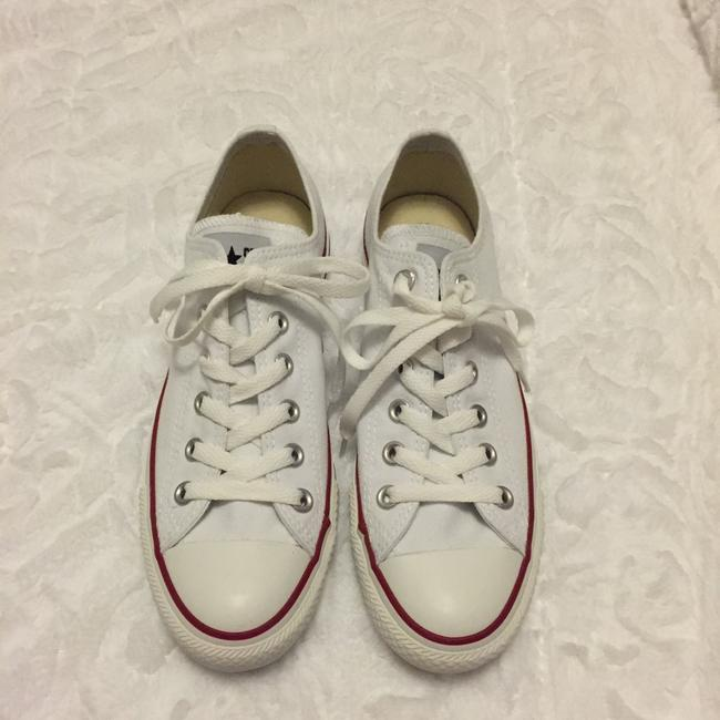Item - White Chuck Taylor All Star Sneakers Size US 8 Regular (M, B)