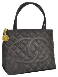 Chanel Tote in Brown Medallion