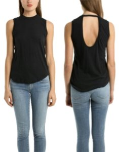 A.L.C. Wool Scoop Top Black