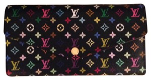Louis Vuitton LV Multicolore Noir Sarah Wallet