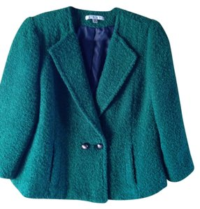 CAbi Elegant Office Green Jacket