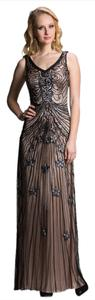 Feriani Couture Size 4 Evening Prom Mother Of Brid Dress