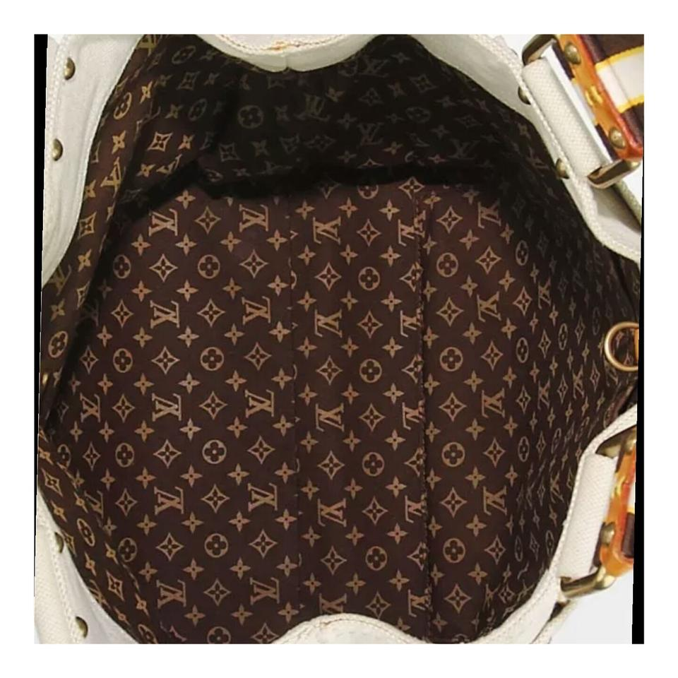 409746d7fb98 Louis Vuitton Limited Edition Damier Canvas Tote in Beige Image 8. 123456789