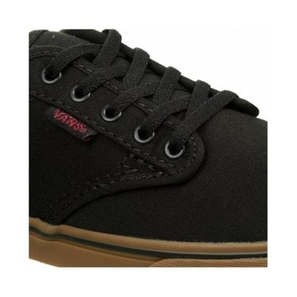 Vans Black Gum Women s Atwood Low Sneaker In Black Gum Sneakers Size ... dc5d992534