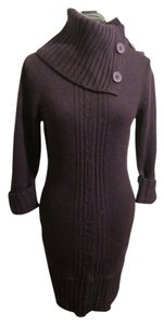 Grane short dress Deep purple Sweater on Tradesy