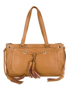 Prada Satchel in Brown Pink