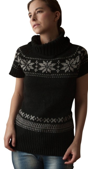 Grip Collection Aspen Alpine Knit Knitted Jacquard Woven Skii Hipster Boho Fall Aluminium Warm Turtleneck Sweater