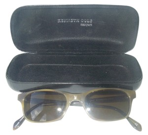 Kenneth Cole Vintage Kenneth Cole 288 C.V. Ellay Times Sunglasses Light Horn Rim Frame France