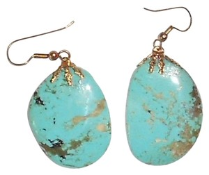 Real Turquoise Stone 1 1/2