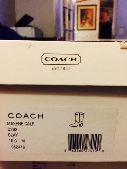 Coach Clay (grey) Boots Image 1