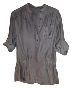 Fossil Casual Button Down Shirt Grey