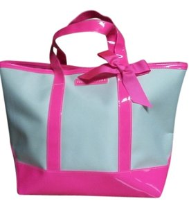 Juicy Couture Tote in Pink and white