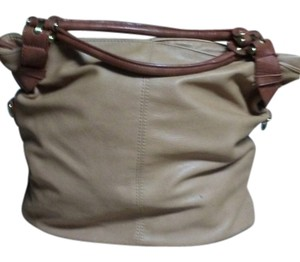 ALDO Satchel in Tan and pecan