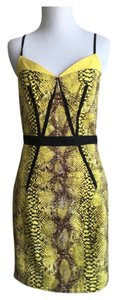 Plenty by Tracy Reese short dress Black & Yellow on Tradesy