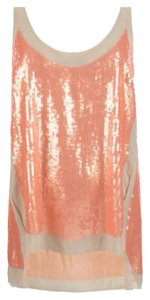 AllSaints Top Burn Coral