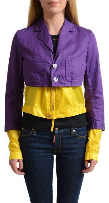 Dsquared2 Multi-color Women's Basic Jacket Size 4 (S) Dsquared2 Multi-color Women's Basic Jacket Size 4 (S) Image 1