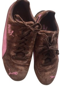 Puma Brown and Pink Athletic