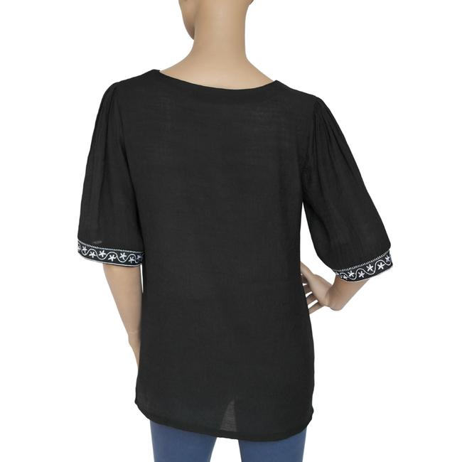 Other Embroidered Top Black Image 2
