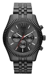 Michael Kors Michael Kors MK8320 Men's Black Tone Lexington Chronograph Watch