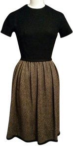 Bonwit Teller short dress black and gray tweed on Tradesy