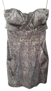 Charlotte Russe Bodycon Strapless Party Dress