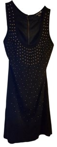 Forever 21 short dress Black Studded Night Out Date Night on Tradesy
