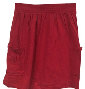 Mossimo Supply Co. Mini Skirt Red