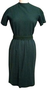 Bonwit Teller short dress hunter green on Tradesy