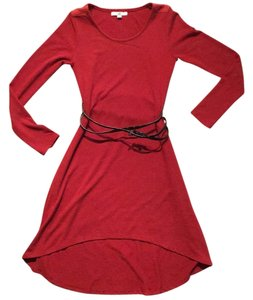 Ya Los Angeles short dress Maroon on Tradesy