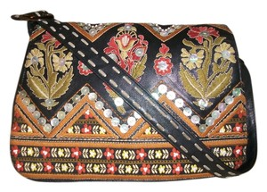 Isabella Fiore Embroidered Shoulder Bag