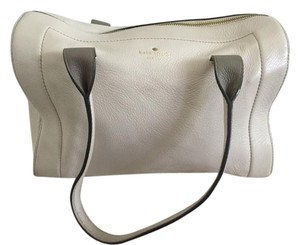 Kate Spade Leather Tote in Cream