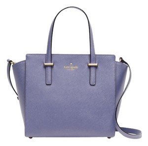 Kate Spade Satchel in thistle/gold