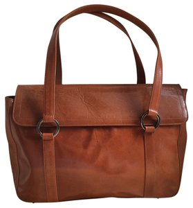 BCBGMAXAZRIA Bcbg Max Azria Leather Satchel in Brown