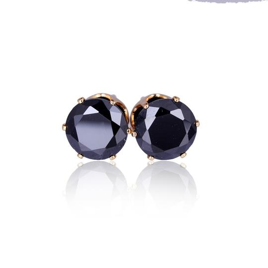 Other Cubic Zirconia gold plated stud earrings Image 1