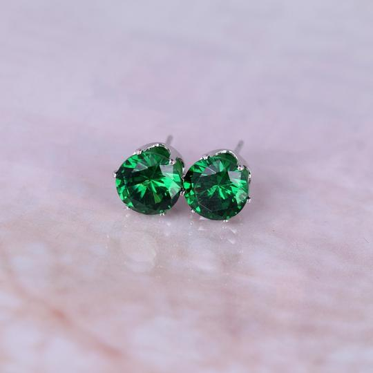 Other Cubic Zirconia gold plated stud earrings