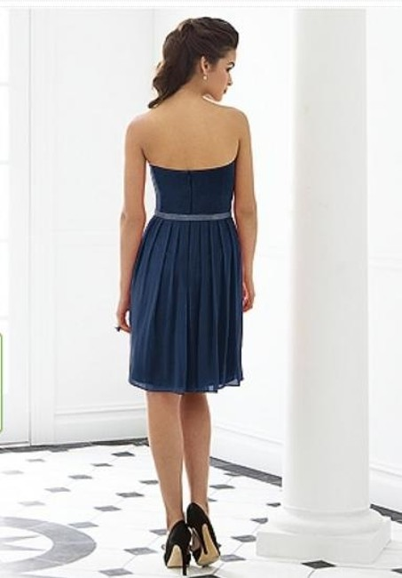 After Six Cocktail Strapless Dress Image 1
