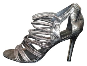 Enzo Angiolini Cocktail Sexy silver Pumps