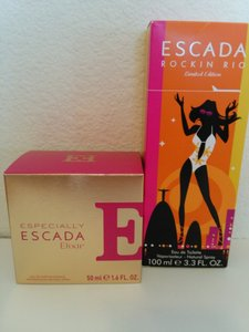 Escada Escada Rockin Rio and Especially Elixir