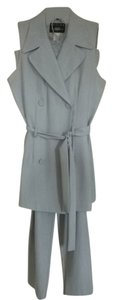 B. Moss light grey pants suit