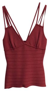 Hervé Leger Top Light red