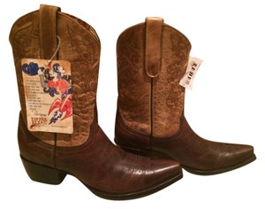 Old Gringo Cowboy Megan Yellow/Brown Boots