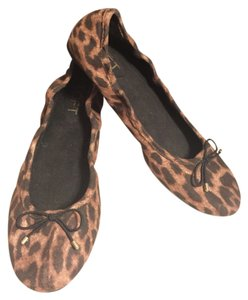 Ann Taylor LOFT Black/Brown Flats