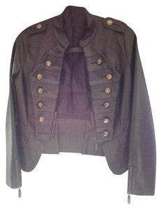 Moon Collection Leather Jacket