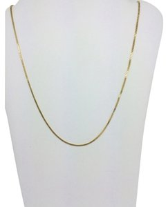 Other 14K Yellow Gold Box Chain ~0.5mm 18 Inches