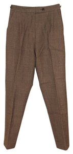 Harvé Benard Slacks Adjustable Waist Lined Wool Pants