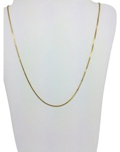 Other 14K Yellow Gold Box chain ~0.5mm 20 Inches