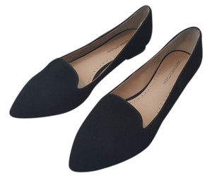 Adrienne Vittadini Perfect Condition Brand New Black Velvet Flats