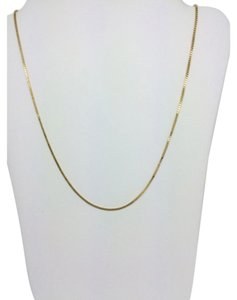 Other 14K Yellow Gold Box Chain ~0.60mm 22 Inches